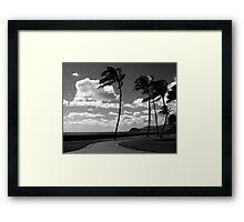 Offshore Wind Framed Print