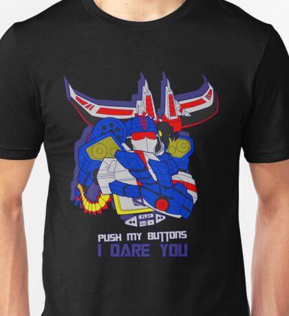 Push Soundwave's Buttons Unisex T-Shirt