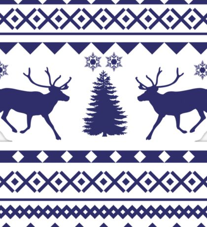 Ugly Sweater Design Sticker
