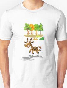 Cute Stuffs Collector's Tee-Shirts and Stickers - Giraffe T-Shirt