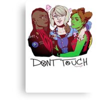 Punk!Trek Girl Gang Canvas Print