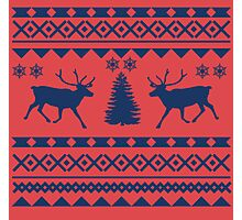 Ugly Sweater Design Photographic Print