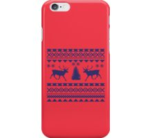 Ugly Sweater Design iPhone Case/Skin