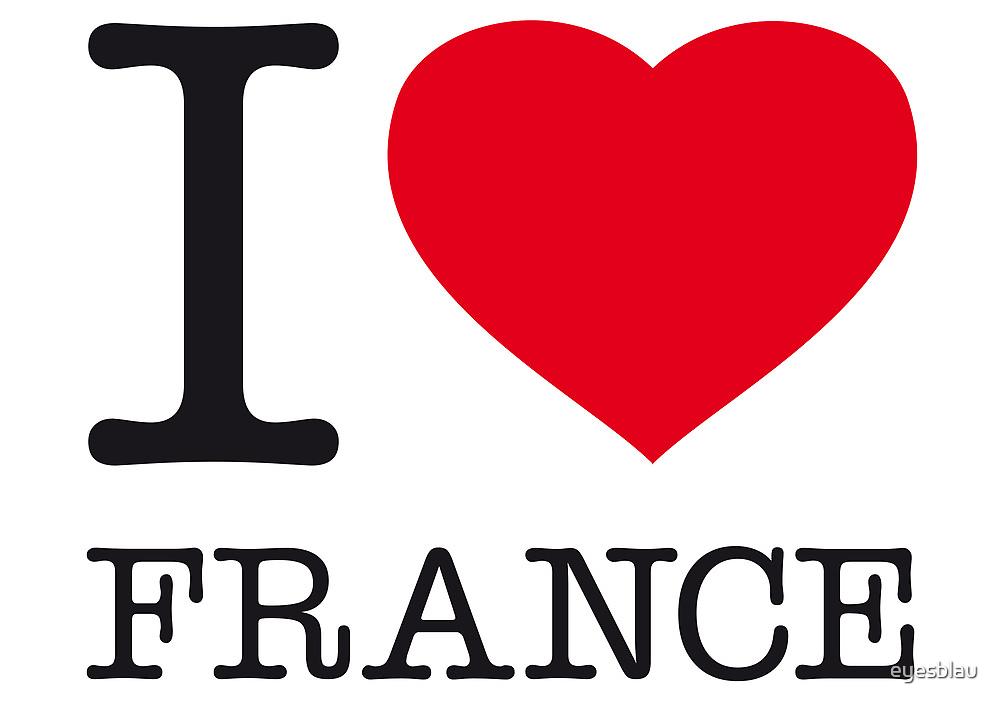 I ♥ FRANCE by eyesblau