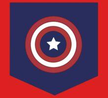 Captain America Pocket Tee by alpacastiel