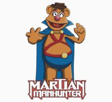 Fozzie Bear the Martian Manhunter by Joshessel