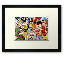 One Piece! Framed Print