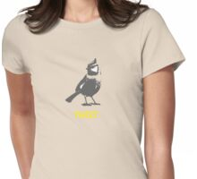 Tweet For Wildlife Conservation Titmouse Print, T-shirt, Sweatshirt, Sticker, iPhone Case, Samsung Galaxy Case, iPad Case Womens Fitted T-Shirt