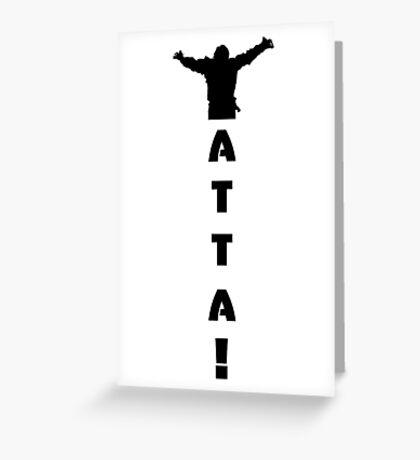 Yatta! Greeting Card