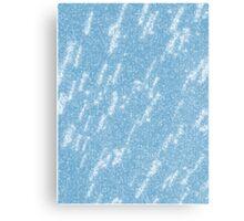 Bold Brave Blue Paint Canvas Print