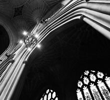 Bath Abbey, Arch by JackDowling