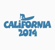 2014 California Surfing (Blue) by theshirtshops