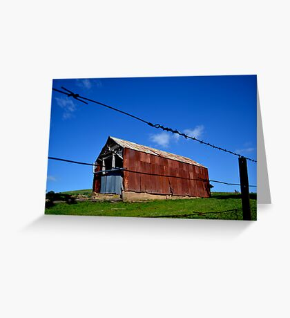 Shed Greeting Card