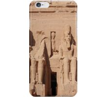 Abu-simbel temple  iPhone Case/Skin