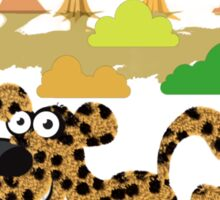 Cute Stuffs Collector's Tee-Shirts and Stickers - Cheetah Sticker