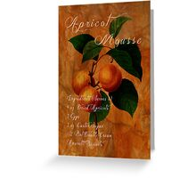 Apricot Mousse Greeting Card