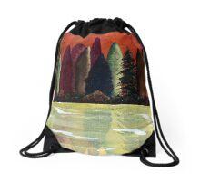 Surface of Light Drawstring Bag