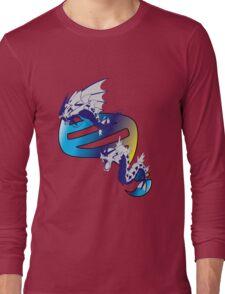 Mega Gyarados Evolution Long Sleeve T-Shirt