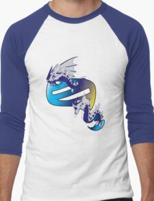 Mega Gyarados Evolution Men's Baseball ¾ T-Shirt