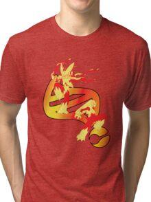 Mega Blaziken Evolution Tri-blend T-Shirt