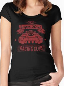 Kart Racing Club Women's Fitted Scoop T-Shirt