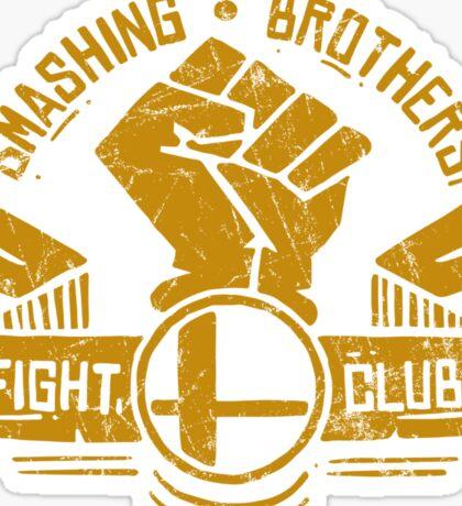 Smashing Brothers Sticker
