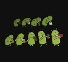 Android Evolution by nonsoloart