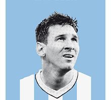 My Messi soccer legend poster by Chungkong