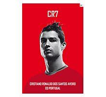 My Ronaldo soccer legend poster Photographic Print