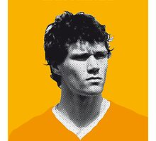 My van Basten soccer legend poster by Chungkong