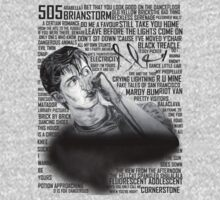 Alex drawing, with Arctic's lyrics! by RockandRoll Maker