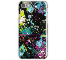 Pollock Style Paint Spatter 3 iPhone Case/Skin