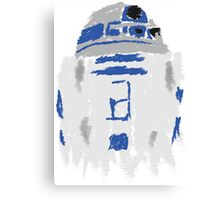 Droid Paint Canvas Print