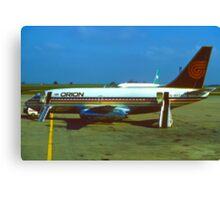 Orion Airways Boeing 737 Canvas Print