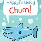 Shark Birthday Card! by VenkmanProject