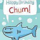 Shark Birthday Card! by VenkmanProject