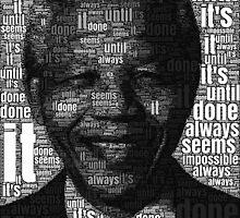 Nelson Mandela words by latma