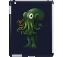H P Lovecraft Baby Cthulhu with Teddy iPad Case/Skin