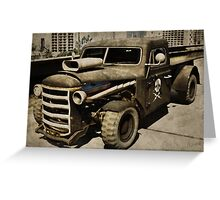 Rustic Loader Greeting Card