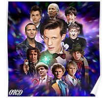 Doctor Who 50th Anniversary - All Doctors Poster