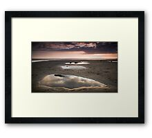 Beach Mirrors 01 Framed Print