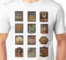12 pubs  Unisex T-Shirt