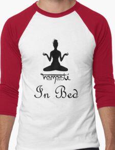 Namaste - In Bed Men's Baseball ¾ T-Shirt