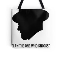 "Breaking Bad ""The One Who Knocks""  Tote Bag"