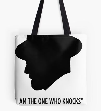 """Breaking Bad """"The One Who Knocks""""  Tote Bag"""
