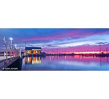 Hillarys Boat Harbour Sunset Photographic Print