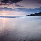 Dunraven Bay Reflection 03 by Paul Croxford