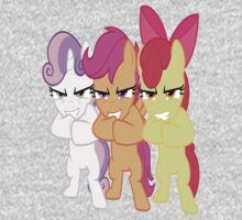 Cutie Mark Crusaders Evil Villians by MyLittleLindsay