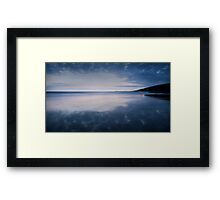 Dunraven Bay Reflection 04 Framed Print