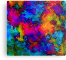 vibrant abstract color explosion  Metal Print
